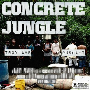 Troy Ave %22Concrete Jungle%22 Art