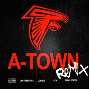 Cyhi The Prynce %22A-Town Remix%22 Art