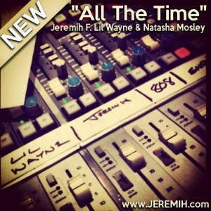 Jeremih %22All The Time%22 Art