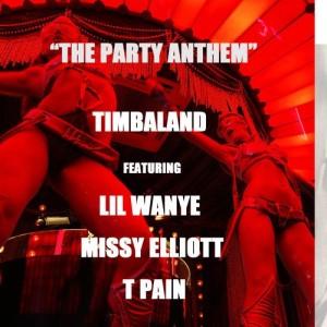Timbaland %22The Party Anthem%22 Art