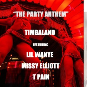 Timbaland %22The Party Anthem%22 Art