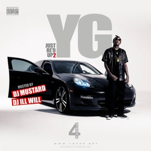 YG %22Just Re'd Up 2%22 Art