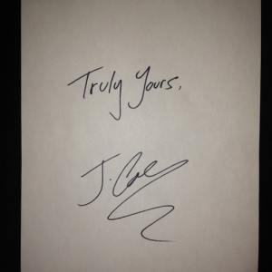J. Cole %22Truly Yours%22 Art