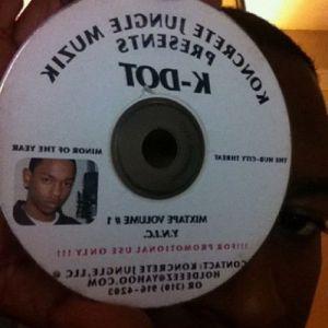 Kendrick Lamar CD Pic