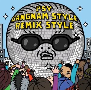 Psy Gangum Style Remix Art