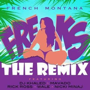 French Montana %22Freaks REMIX%22 Art
