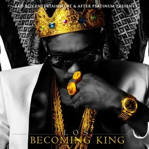 King Los %22Becoming King%22 Art