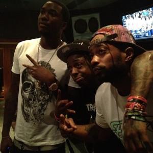 Lil Wayne & Meek Mill Pic