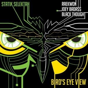 Statik Selektah %22Bird's Eye View%22 Art