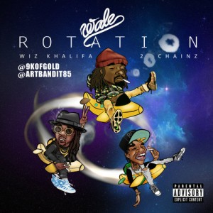 Wale %22Rotation%22 Art