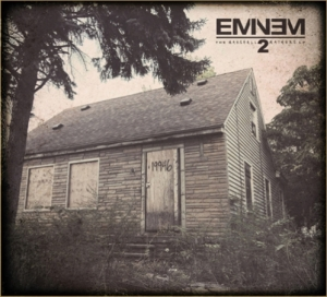 Eminem %22Marshall Mathers LP 2%22 Art